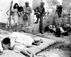 Japanese Soldiers Killing Filipino Civilians
