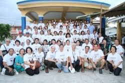 Mission Participants in the town of Buenavista, 2011