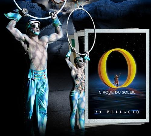 Cirque du Soleil O at the Bellagio