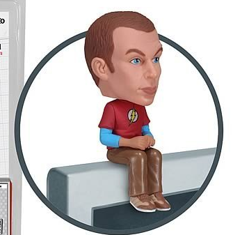 Big Bang Theory Sheldon Computer Topper. A Geek for a Geek Gift. Perfect, no?