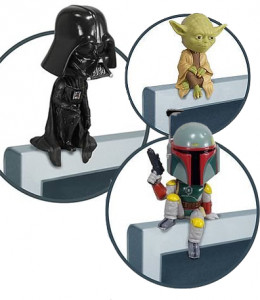 The Force is Strong with these Star Wars BobbleHead Sitters!