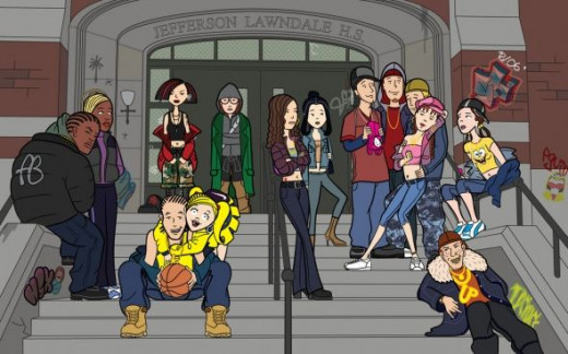Characters of the Daria Show