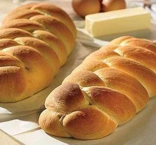 Braided Bread - A Traditional Imbolc Food