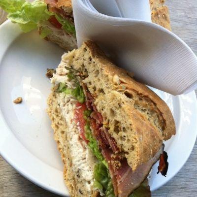 Turkey and Bacon Sandwich by illustir via Flickr Creative Commons