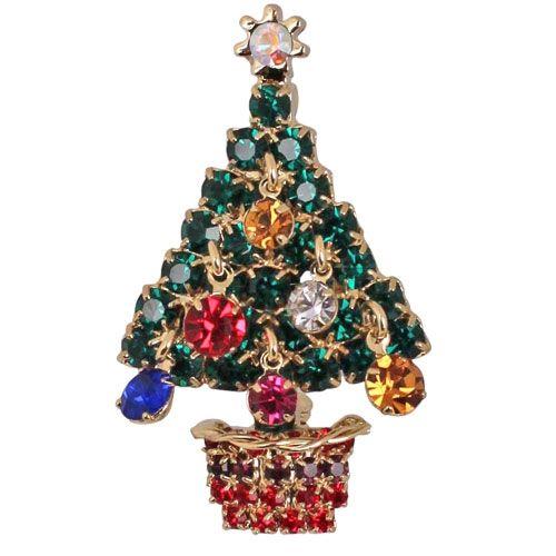 Kirks Folly Christmas Tree Pin
