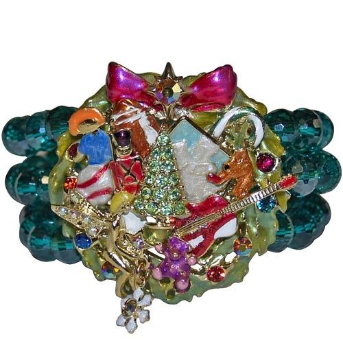 Kirks Folly It's Beginning to Look a Lot Like Christmas Stretch Bracelet