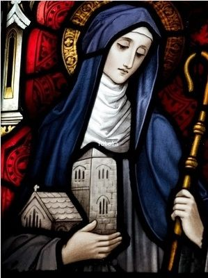 Saint Brigid - Image licensed from Fotolia