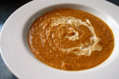 Creamy Butternut Squash Soup. Image courtesy of Ex. Libris via Flickr Creative Commons