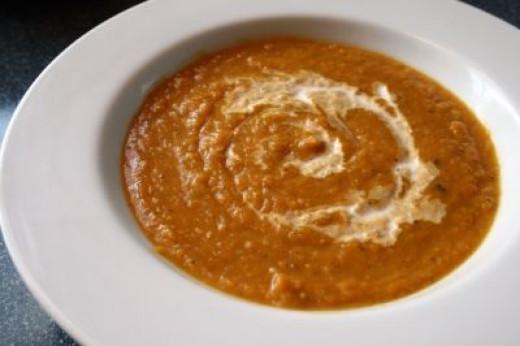 Creamy Butternut Squash Soup. Image courtesy of Ex. Libris via Flickr Creative Commons