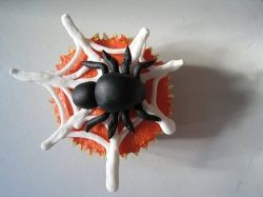 Spider Halloween Cupcake Photo courtesy of Flickr Creative Commons, author abakedcreation