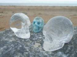 Crystal Skulls - copyright of the author (c) 2011