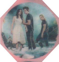 Bella and Edward Cupcake Toppers