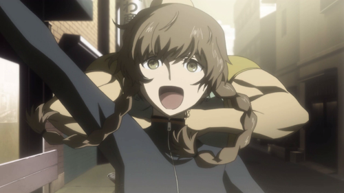Mysterious part-timer at CRT-TV, Amane Suzuha is more than she seems and holds a deep dislike for Kurisu.