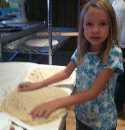 Allow Lefse to Cool