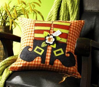 witch-legs-shoes-applique-pillow