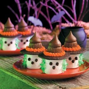 marshmallow-witch-treats