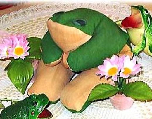 frog-beanbag