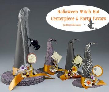 craft-black-witches-hats-gold-trim-centerpiece