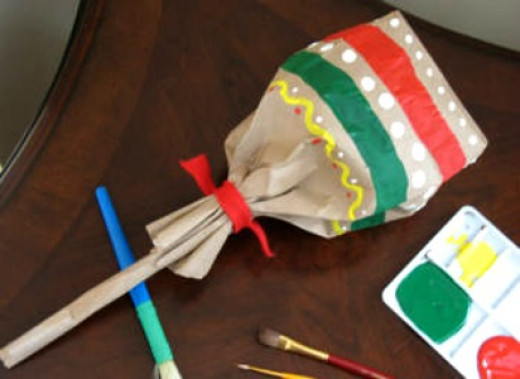 50 creative paper bag craft ideas hubpages for Brown paper bag crafts for preschoolers