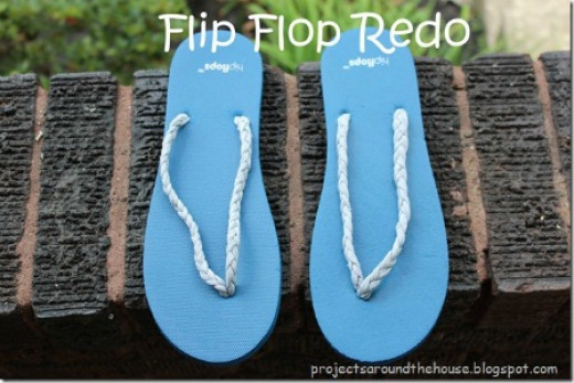 t-shirt-re-do-braided-strips-flip-flops