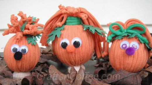 craft-orange-t-shirt-strips-pumpkins