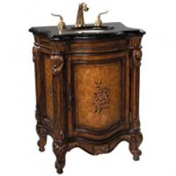 Home bath furniture: small bath vanity