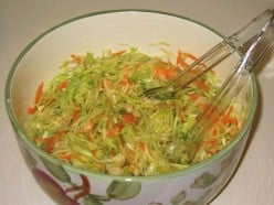 Cabbage & Lettuce Salad