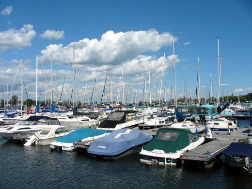 Valleyfield marina