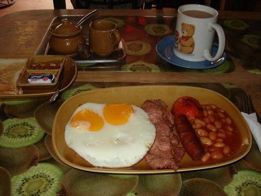 Crazy Dave breakfast
