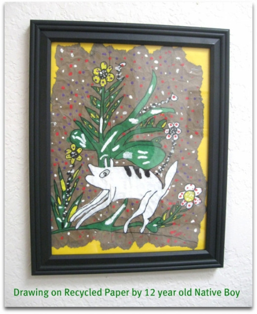Native Indian Childrens Art