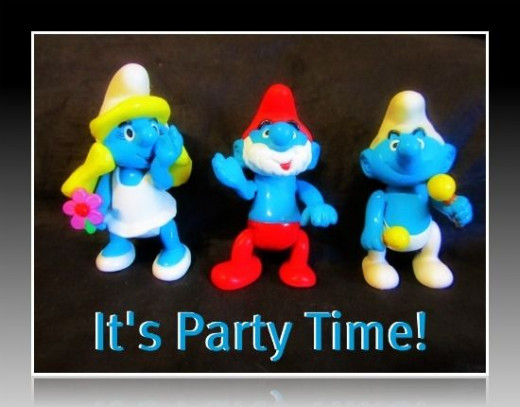 Smurfs It's Party Time photo by Kathy McGraw