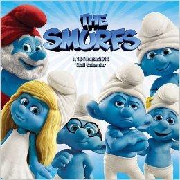Smurfs  Calendar 2014