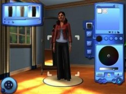 Create a Sim in Sims 3: Create a Style