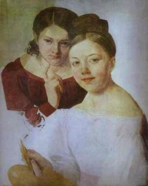 Two Sisters, 1830s