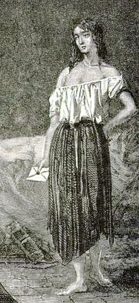 Eponine as She Appears in Les Miserables Illustrations