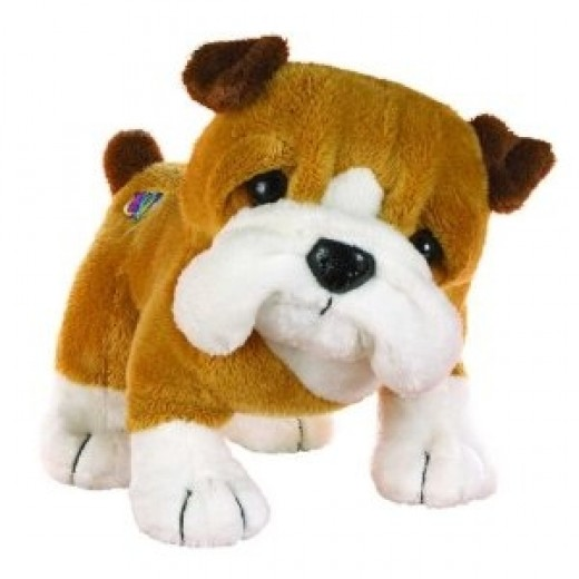 Webkinz Bulldog Puppy. Includes Free Webkinz In Game Code