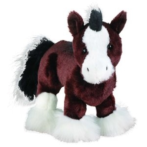 Webkinz Clydesdale Horse. Includes Free Webkinz In Game Code