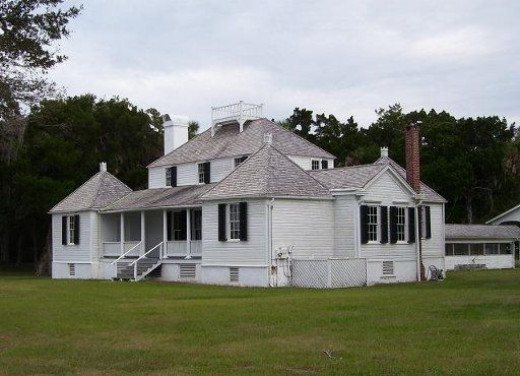 Plantation House, where slave ancestors lived