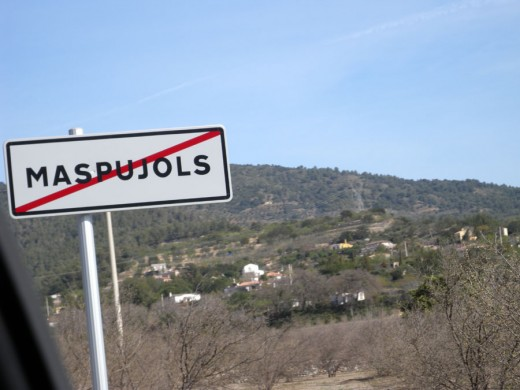 Leaving Maspujois