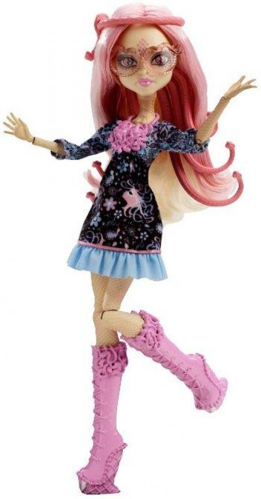 Viperine Gorgon Monster High Doll