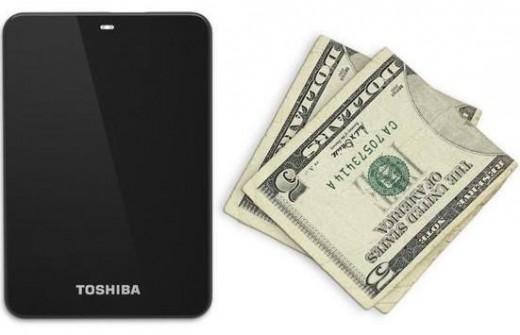 toshiba external portable hard drive