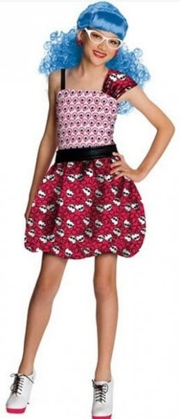 Dot Dead Gorgeous Ghoulia Yelps Halloween Costume