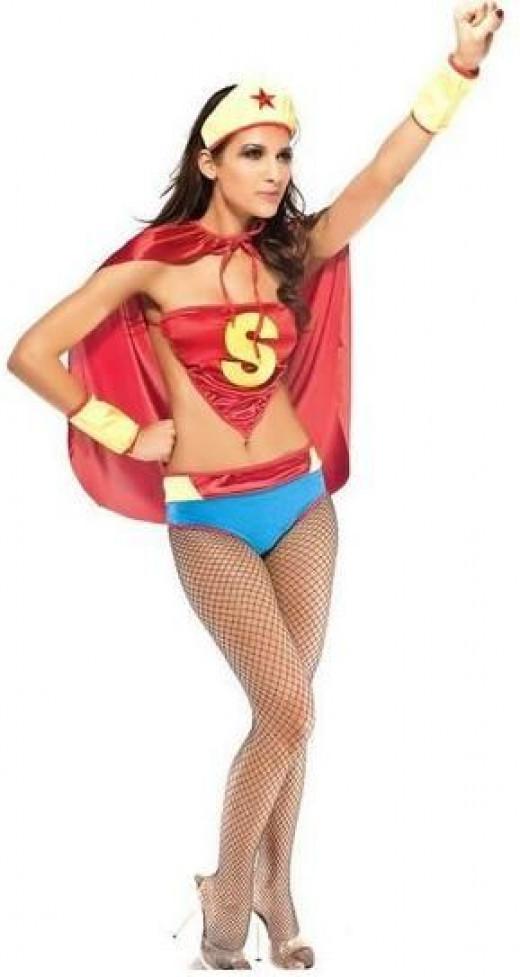 Sexy Super Girl Costume