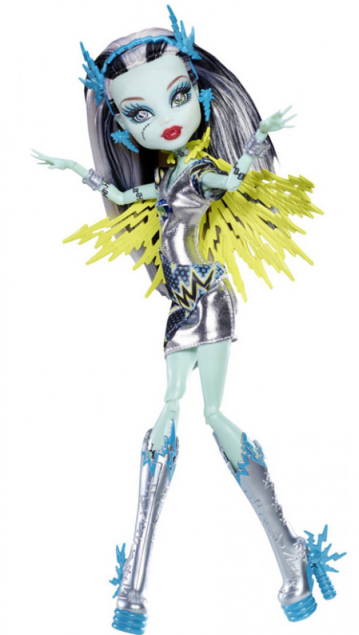 Frankie Stein Voltagerous Power Ghouls Monster High Doll