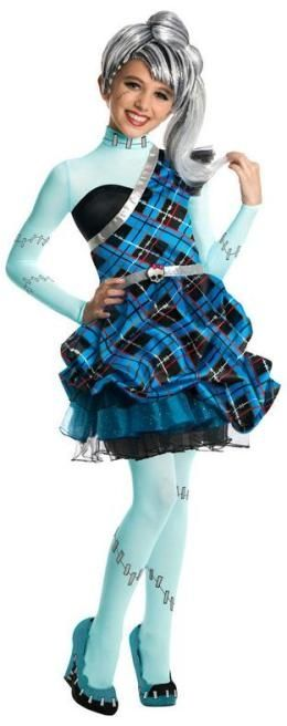 Monster High Sweet 1600 Frankie Stein Halloween Costume
