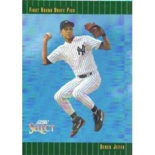 1993 Score Select Derek Jeter Rookie Card