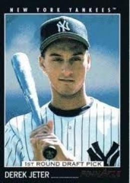 1993 Pinnacle Derek Jeter Rookie Card
