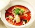 Tom Yam Kung...hot and spicy Thai style shrimp soup. 20 minutes to heaven