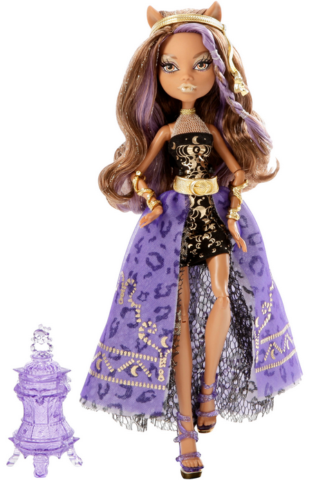 Clawdeen Wolf 13 Wishes Party Monster High Doll