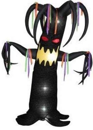 Airblown Animatronic 7.5 ft Inflatable Halloween Tree